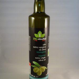 Biologische olijfolie extra vergine
